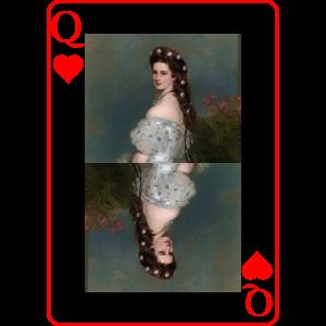 Kaiserin Sissi spielkarte Österreich