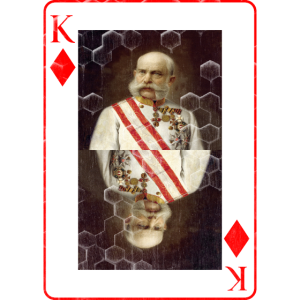 Kaiser Franz von Österreich spielkarte