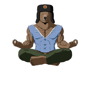 Meditation Russischer Bär