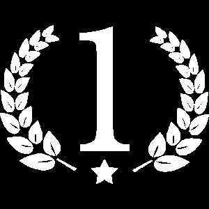 Nummer 1. Das Beste, Cool, Gewinner, Nr. 1. Olivenblatt