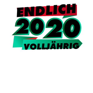 Endlich volljaehrig 2020 - 18. Geburtstag