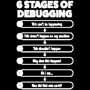6 Debugging-Phasen | Lustiger Programmierer & Codierung
