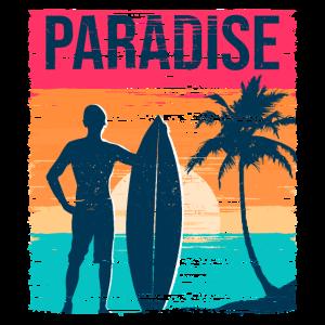 Paradise Sunset - Geschenk-T-Shirt