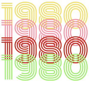 1980 40. Geburtstag