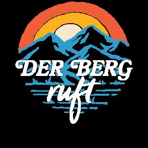 Der Berg ruft - retro vintage Wander Geschenk