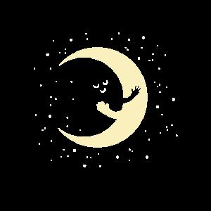Mond Umarmung