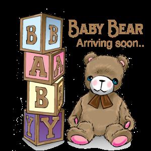 Babyparty Baby Bär kommt bald an