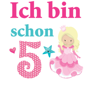 Geburtstag Geschenk Mädchen 5 Jahre Prinzessin