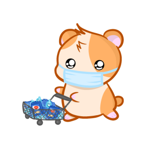 Corona Hamster Hamstereinkauf Virus