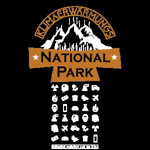 Klimaerwärmungs Nationalpark