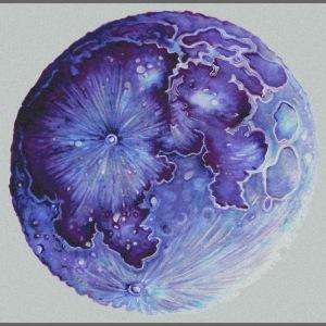 Moon lila