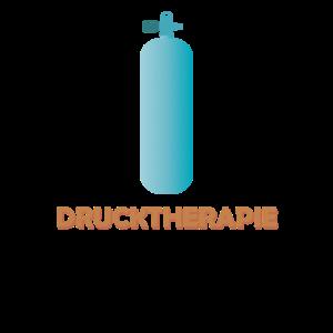 Drucktherapie Taucher Geschenk mit Druckflasche