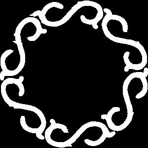 eleganter rahmen rund design