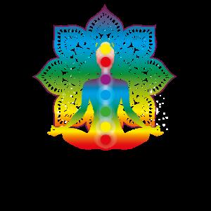 Chakra Meditation Sieben Chakra Farben