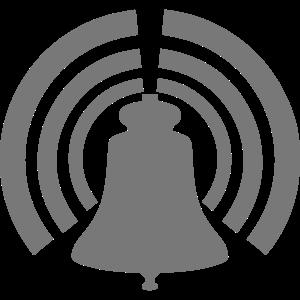 Symbol Glocke läutet 0