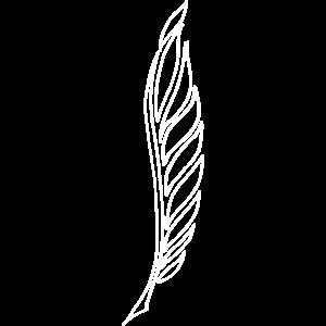 Vogel Federn Federhalter