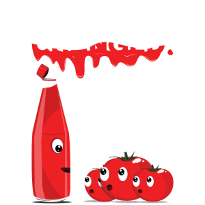 Ketchup Tomaten Lustigs Bild