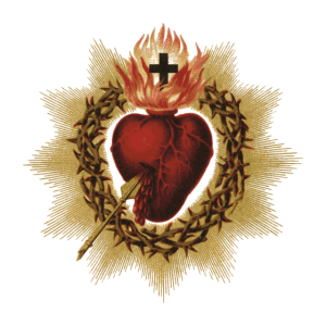 Vintage Sacred Heart of Jesus