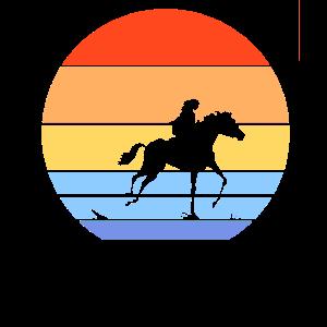 Das Pferd und ihre Reiterin