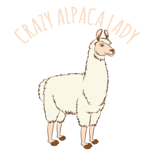Alpaca Gifts-Crazy Alpaca Lady