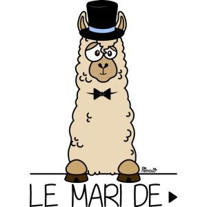 LeMARI de LAMARIEE (1de2), Mariage, marié, Lama