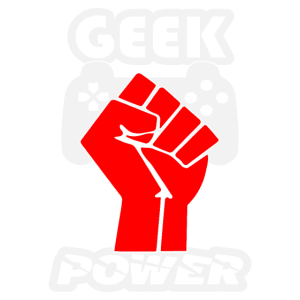 Geek Power Gamer Original Trend Humor T-Shirt