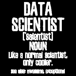 Datenwissenschaftler Cool