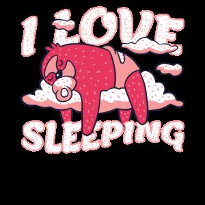 Sleep Day 2020 Ich liebe Schlafen