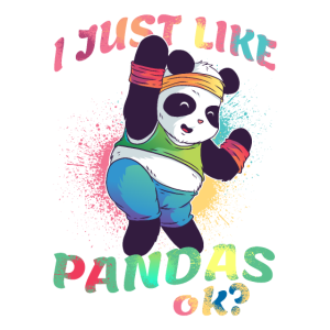 Panda Day Pandas Spruch