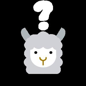 Verwirrtes Lama