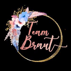 Boho Feder Kreis Team Braut 2