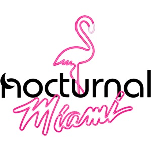 Nocturnal Miami Flamingo black