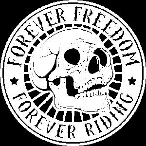 Freiheit Motorrad Biker Motorräder Totenkopf