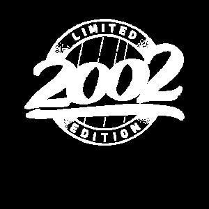 Limited Edition 18 Jahre Geburtstag Jahrgang 2002