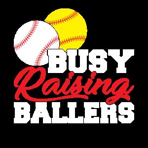 busy raising ballers baseball lover Shirt