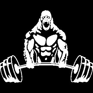Gorilla Gewichtheben - Gym Bodybuilding Workout