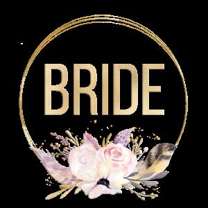 Boho Feder Kreis 3 Team Bride Bride