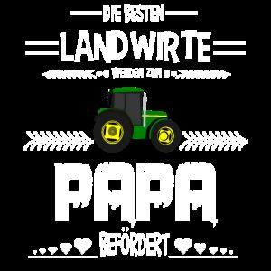 Vater Landwirt Bauer Papa Beruf Trecker Spruch Ges
