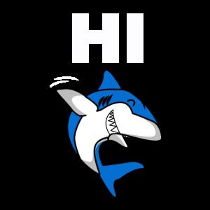 Hi Hai Weißer Raubfisch Meerestier Meeresleben