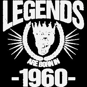 Legenden wurden im Jahre 1960 geboren Geburtstag