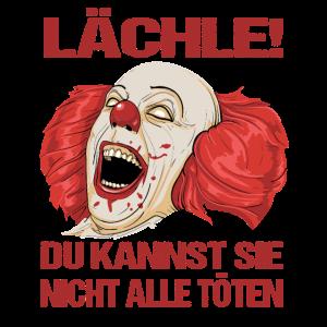 Lächle Du Kannst Sie Nicht Alle Töten Horror Clown