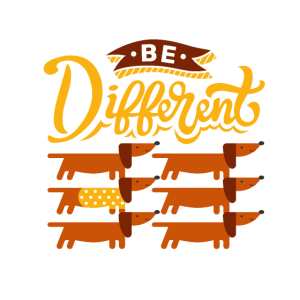 Be Different - Dackel