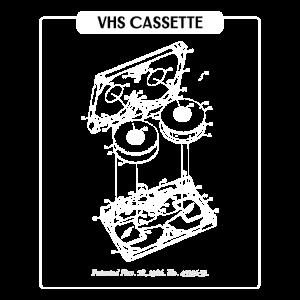 VHS Retro Zeichnung
