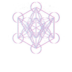 Heilige Geometrie Metatrons Cube Psy Trance Yoga