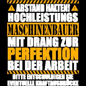 Maschinenbauer Ingenieur Geschenk Lustiger Spruch