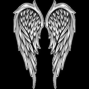 Engelsflügel-Angelwings - Große Version