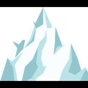 Berg weiss