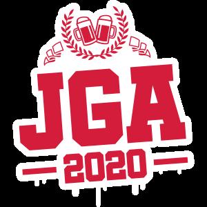 jga 2020 junggesellen bier