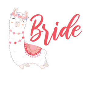 Bride to be Braut Alpaca Lama Alpaka JGA Party