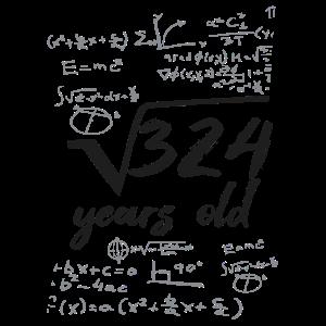 324 Jahre Alt Wurzel Mathematiker 18 Jahre